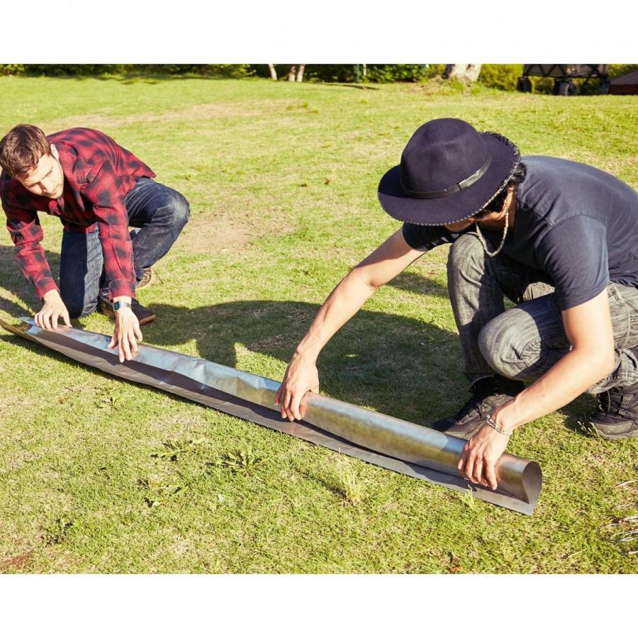 薪ストーブ ポータブルチタンストーブ Lサイズ サイドプレート付き Portable Titanium Wood Stove Seek Outside trente-trois 19