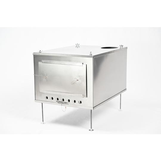 薪ストーブ ポータブルチタンストーブ SXLサイズ サイドプレート付き Portable Titanium Wood Stove SXL Seek Outside|trente-trois|03
