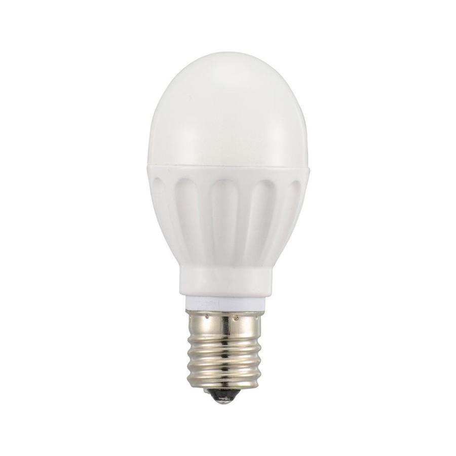OHM LED電球 小形 E17 40形相当 電球色 12個入 LDA4L-G-E17IH2112 代引き不可