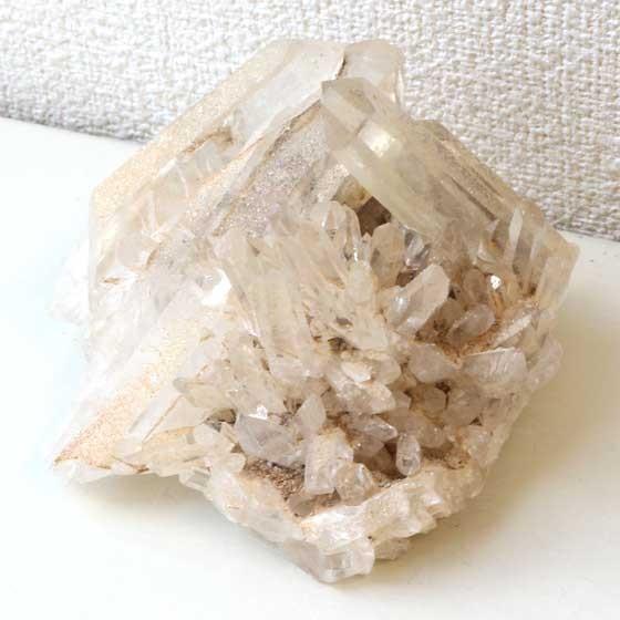 カンチェンジュンガ産ヒマラヤ水晶クラスター64 天然石 パワーストーン 原石 メール便不可