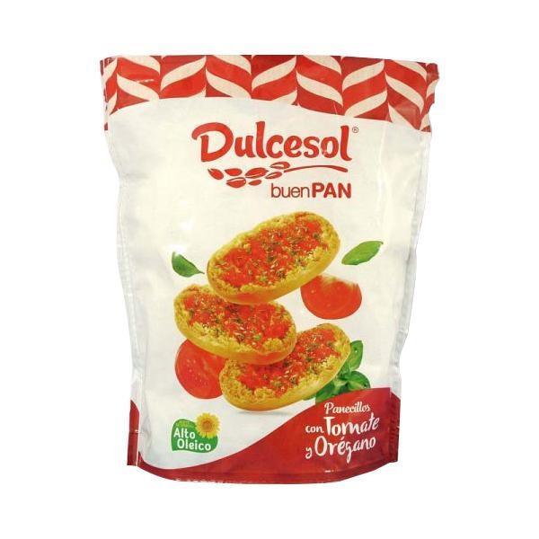 Dulcesol ドゥルセソル トマト クリスプブレッド 160g×10袋(調理 パン ブレッド スナック お菓子 おやつ つまみ オードブル 軽食)