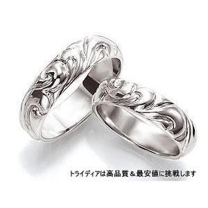 春新作の K18WGホワイトゴールドリング結婚指輪Styleスタイル写真左AT108, 空手瓦:6154a28a --- airmodconsu.dominiotemporario.com