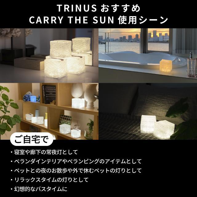 CARRY THE SUN キャリーザサン キャリー・ザ・サン LEDライト CTSC-WHM ミニ 折り畳み 暖色 かわいい おしゃれ ホワイト  ギフト プレゼント|trinusstore|04