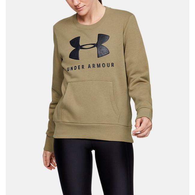 Under Armour UA Favorite Fleece Sportstyle Graphic Crew