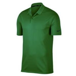 ナイキ メンズ ポロシャツ Nike Dri-Fit Victory Solid Golf ゴルフ 半袖 Classic 緑/黒