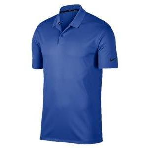ナイキ メンズ ポロシャツ Nike Dri-Fit Victory Solid Golf Polo ゴルフ 半袖 Game Royal/黒