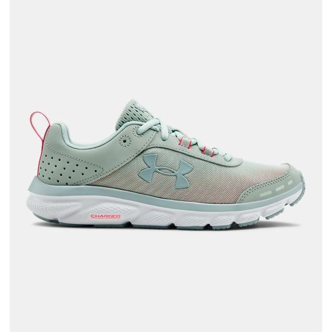 本店は アンダーアーマー Shoes レディース Assert ランニングシューズ UA Green/White Charged Assert 8 Running Shoes スニーカー Atlas Green/White, マリンショップMGS:4d3dcbbe --- theroofdoctorisin.com