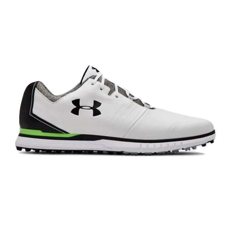 100%本物保証! Wide (E) 幅広 アンダーアーマー メンズ Under (E) Armour Showdown Showdown SL Golf Shoes ゴルフシューズ White/Black スパイクレス ワイド 幅広, QATARI -カタリ-:06d13f8a --- airmodconsu.dominiotemporario.com