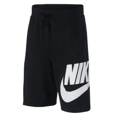 ナイキ ボーイズ / キッズ Nike Alumni Shorts バスパン ショーツ ハーフパンツ Carbon Heather/白い
