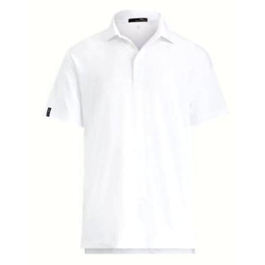 ポロ ラルフローレン メンズ Polo Ralph Lauren RLX Active Fit Performance Polo Shirt ポロシャツ 半袖 PURE 白い