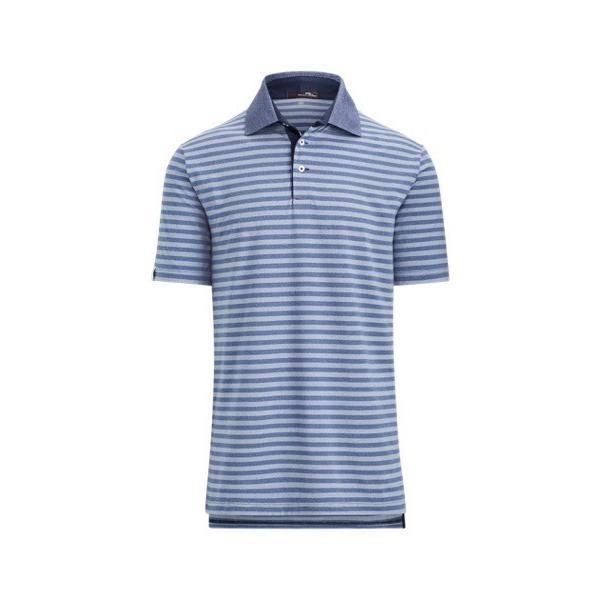 ラルフローレン メンズ Polo Ralph Lauren RLX GOLF Custom Slim Performance Polo Shirt ポロシャツ 半袖 ゴルフ PURE 白い/AUSTIN 青