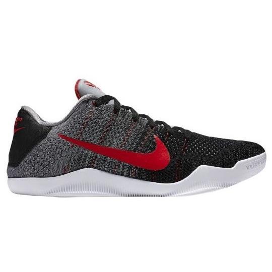 """ナイキ メンズ  コービー11 Nike Kobe XI 11 Elite Low """"Tinker Muse"""" バッシュ Cool Grey/University Red/Black 高額レア"""