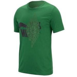 ジョーダン メンズ Tシャツ Jordan Futura Wings T-Shirt 半袖 Pine 緑/黒