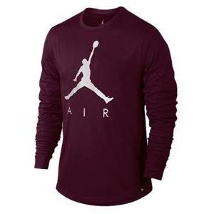 ジョーダン メンズ ロンT Jordan JSW Jumpman Air Long Sleeve T-Shirt Tシャツ バスケットボール Bordeaux/Sail