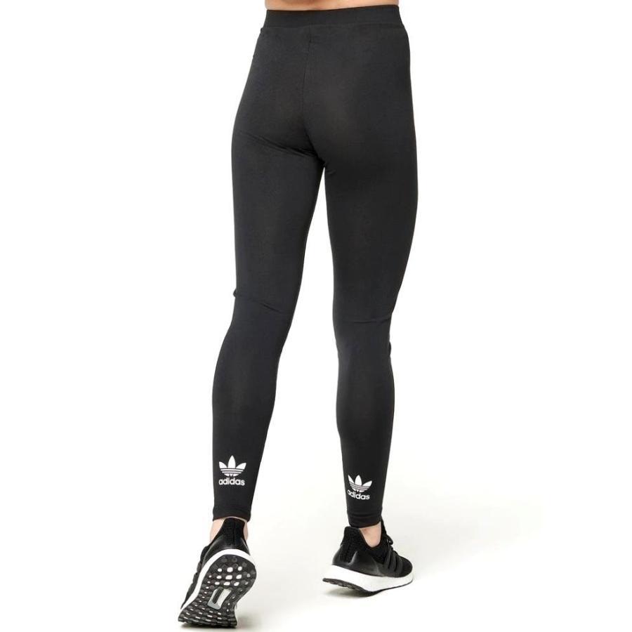 アディダス オリジナルス レディース レギンス adidas Originals Adicolor Trefoil Leggings スパッツ タイツ 黒