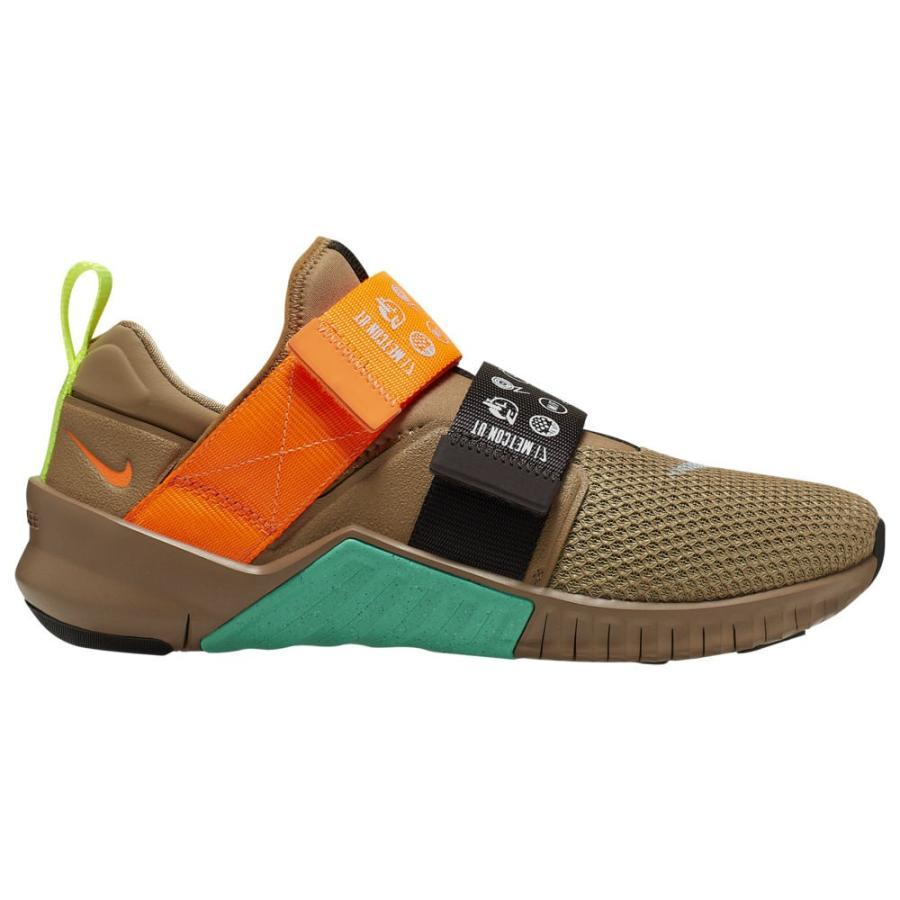 高質で安価 ナイキ メンズ トレーニングシューズ Nike Free X Free Metcon X 2 フィットネス Metcon Beechtree/Total Orange/Brown/Green, ビタミンバスケット:fe0e3792 --- airmodconsu.dominiotemporario.com