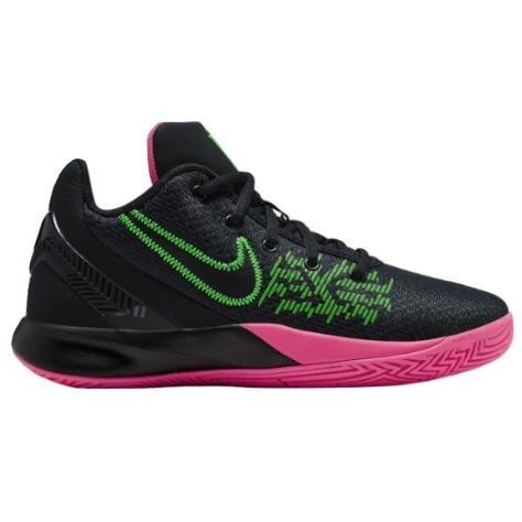 ナイキ キッズ/レディース カイリー フライトラップ Nike Kyrie Flytrap II バッシュ 黒/黒/Hyper ピンク/Rage 緑