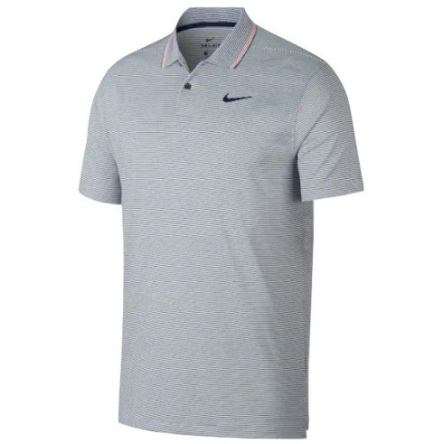 ナイキ メンズ ゴルフ ポロシャツ Nike Dry Vapor Control Golf Polo 半袖 Blue Void/Pure/Blue Void