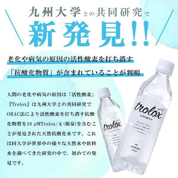【公式】Trolox トロロックス 天然抗酸化水 2L ペットボトル 6本 trolox 02