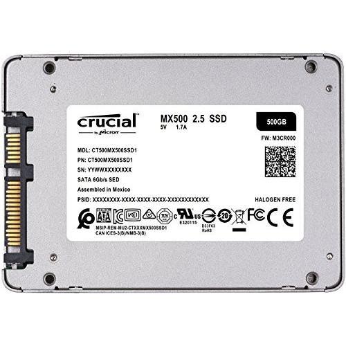 """CRUCIAL MX200 MX500 250GB Internal SSD  2.5/"""" 7mm SATA III 6GB//s"""