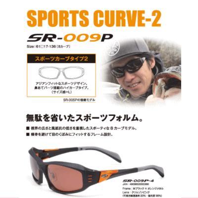 偏光グラス ストームライダー SR-009-P スポーツカーブタイプ2
