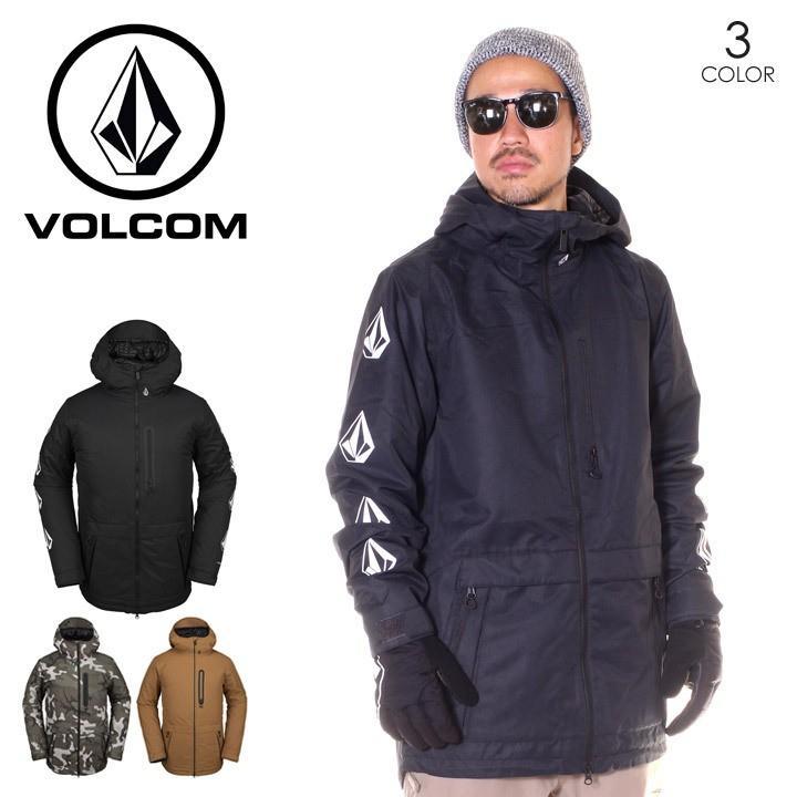 VOLCOM ボルコム スノーウェア ジャケット メンズ DEADLY STONES JACKET 2019-2020年秋冬