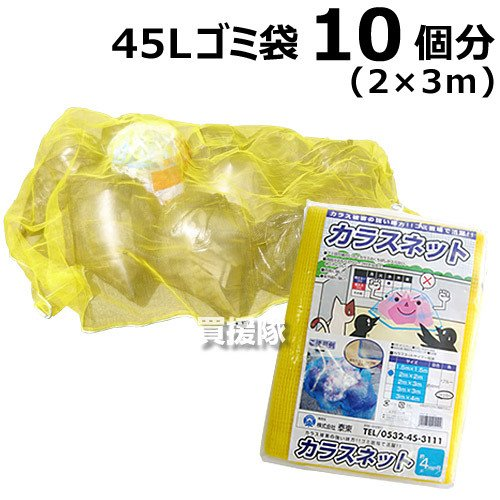 カラス ネット 定番の人気シリーズPOINT ポイント メーカー直送 入荷 2×3メートル 日本製