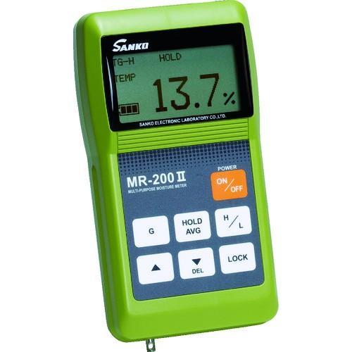 サンコウ 高性能小型直流電気水分計 本体 MR-200-2 期間限定 ポイント10倍