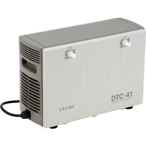 アルバック機工 株 ULVAC 単相100V ダイアフラム型ドライ真空ポンプ 幅158mm DTC-41 期間限定 ポイント10倍
