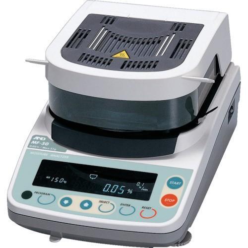 株 エー・アンド・デイ A&D 加熱乾燥式水分計 最小質量表示0.002g MF-50 期間限定 ポイント10倍