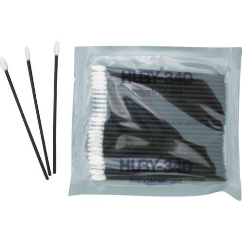 有 クリーンクロス HUBY フラットスワイプ 導電プラ軸使用 12500本入 FS-010 期間限定 ポイント10倍