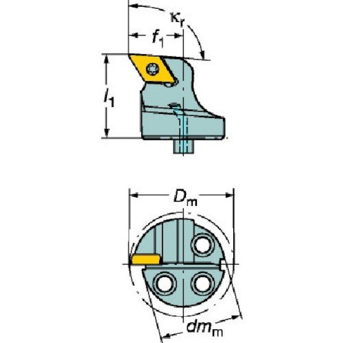 サンドビック コロターンSL コロターン107用カッティングヘッド 570-SDUCR-40-11期間限定 ポイント10倍
