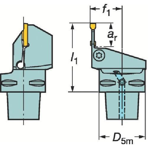 サンドビック コロマントキャプト コロカット1・2用カッティングユニット C5-RF123L13-35060B期間限定 ポイント10倍