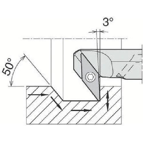 京セラ 内径加工用ホルダ A25S-SVZBR16-34AE 期間限定 ポイント10倍