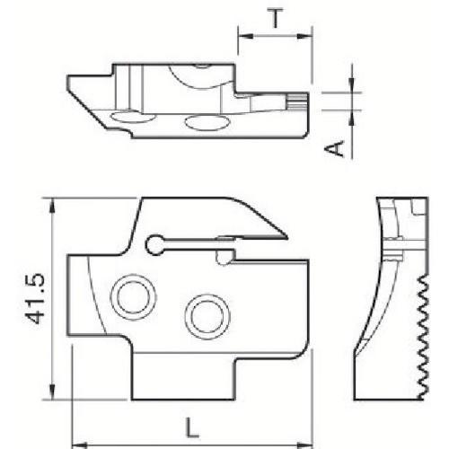 京セラ 溝入れ用ホルダ KGDFR-150-4B-C 期間限定 ポイント10倍