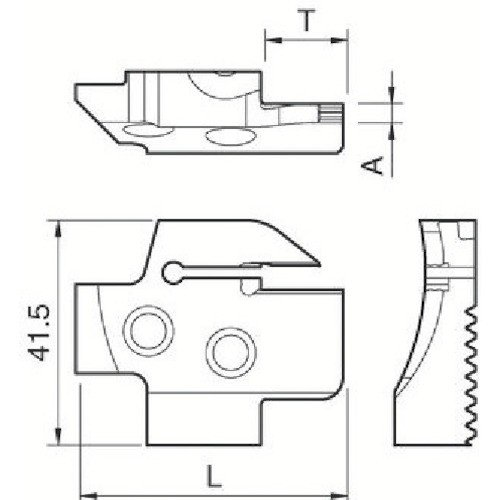京セラ 溝入れ用ホルダ KGDFR-180-5B-C 期間限定 ポイント10倍