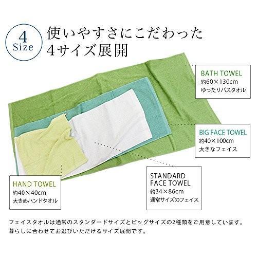 hiorie(ヒオリエ) 日本製 ホテルスタイルタオル 4枚セット(バスタオル2枚+フェイスタオル2枚) モカ 瞬間吸水