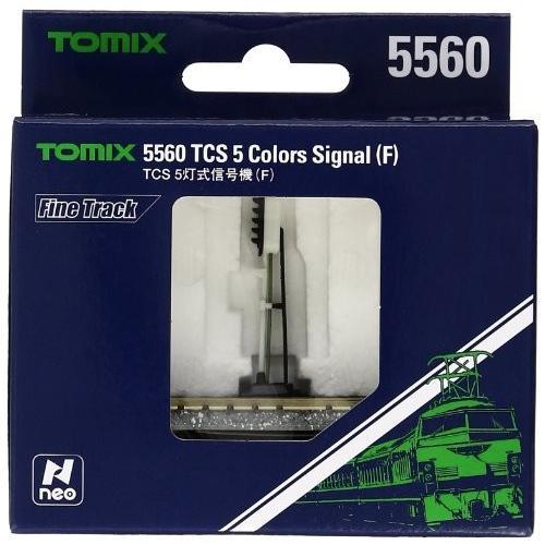 TOMIX Nゲージ TCS 5灯式信号機 F 5560 鉄道模型用品