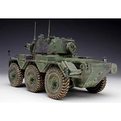 ドラゴン ブラックラベル 1/35 イギリス陸軍 6輪装甲車 サラディンMk.II プラスチックモデルキット BL3554
