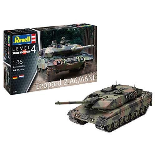 ドイツレベル 1/35 ドイツ陸軍 レオパルド 2A6/A6 プラモデル 03281