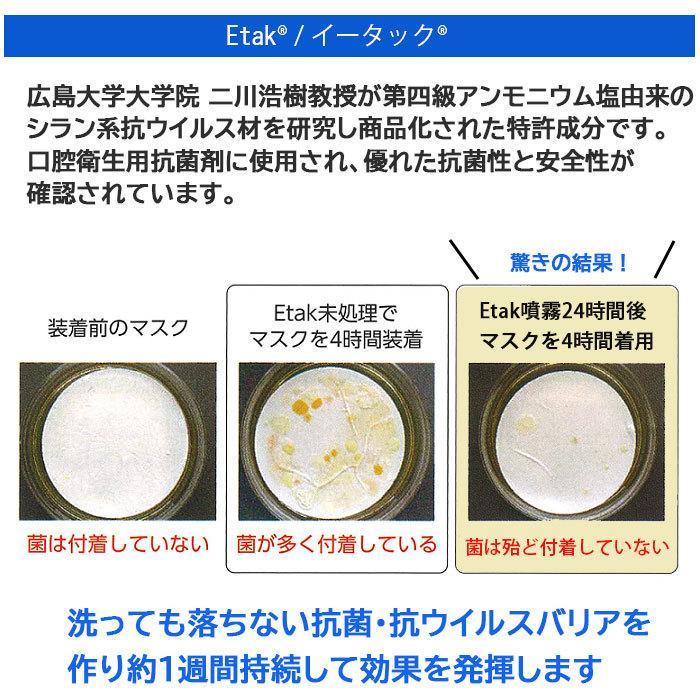 マスクフィルター イータック 日本製 抗ウイルス 大人用 子ども用  50日用 3枚入り|trustkagaku-store|06