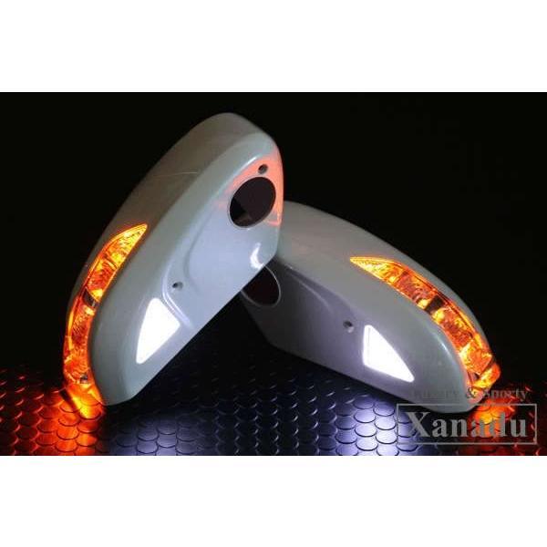 日産 スカイライン CPV 35 LED ドアミラー ウインカー / 塗装済 / 外装 パーツ SKYLINE サイドミラー ミラーカバー|trustonline