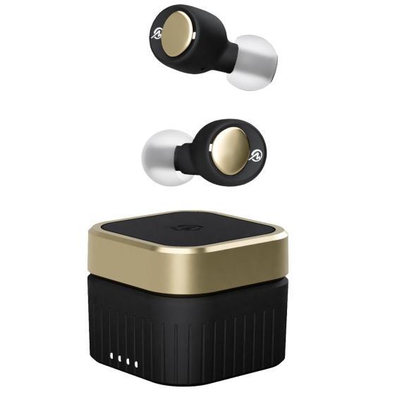 2021年 新製品 ワイヤレスイヤホン Bluetooth 両耳 カナル型 Bluetoothイヤホン M-SOUNDS ジェットブラックxゴールド MS-TW22BG MSTW22BG|try3|03