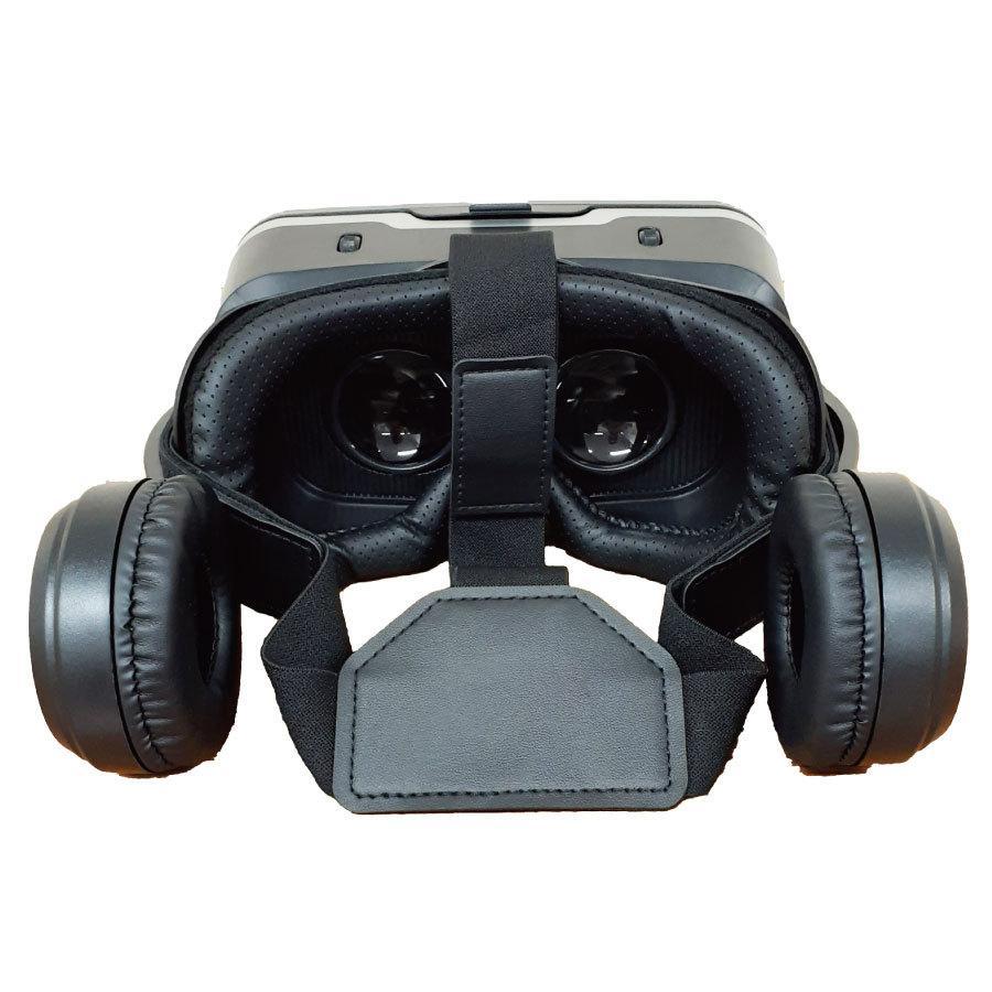 VRゴーグル iPhone Android ヘッドフォン付き 3D 動画 バーチャル VR SHINECON 3D眼鏡 送料無料|trybest-biz|03