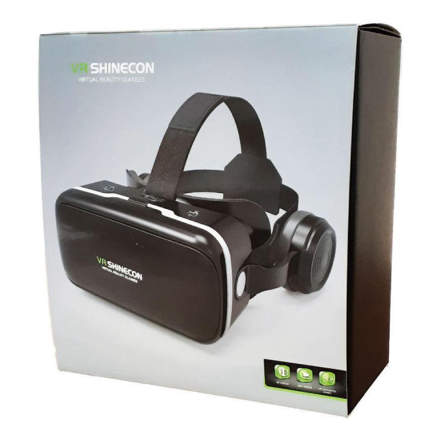 VRゴーグル iPhone Android ヘッドフォン付き 3D 動画 バーチャル VR SHINECON 3D眼鏡 送料無料|trybest-biz|08
