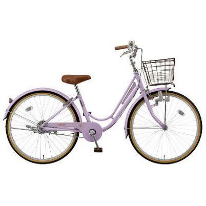 【キャッシュレス5%還元対象店】【防犯登録サービス中】丸石(マルイシ) 自転車 リズミック RZ24C(RM24C) MK05P 紫系パール