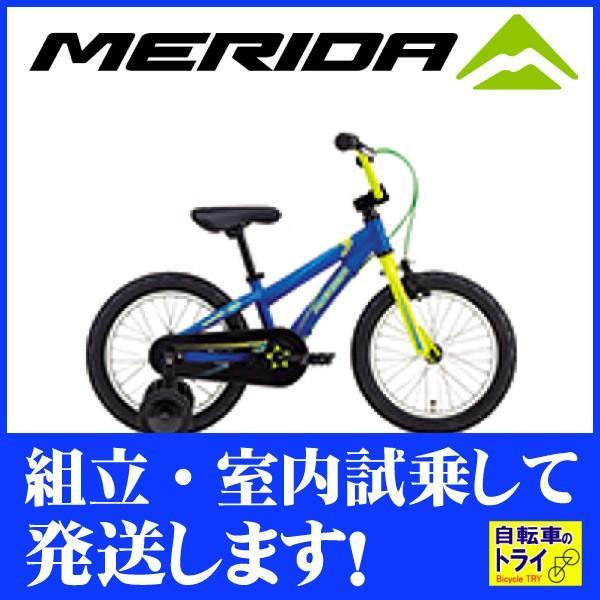 【キャッシュレス5%還元対象店】メリダ(MERIDA) 子供用自転車 MATTS J.16 マットブルー