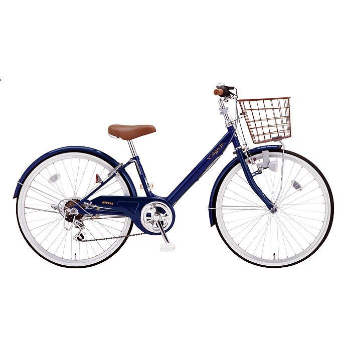 【キャッシュレス5%還元対象店】送料無料 ミヤタ(MIYATA) 子供用自転車 Vサインジュニア CRVJ2069 (AB35) パールネイビー
