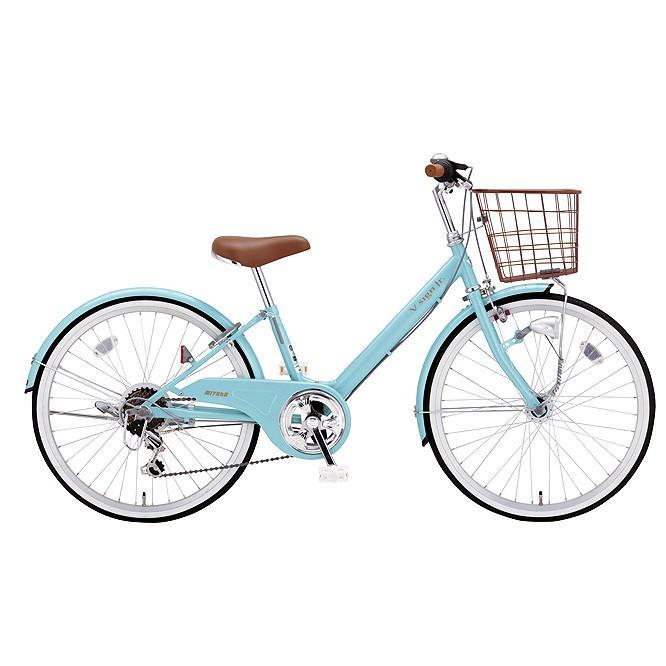 【キャッシュレス5%還元対象店】送料無料 ミヤタ(MIYATA) 子供用自転車 Vサインジュニア CRVJ2069 (AB36) ヘイジーブルー