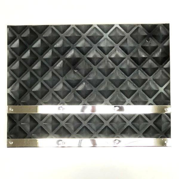 銀狼泥除け4mm 600mm×450mm ステンレスプレート折り込み式付 2枚セット|ts-nakamura|04